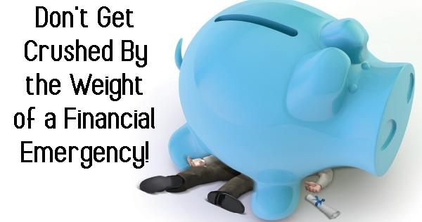 Don't Get Crushed by the Weight of a Financial Emergency, and Get The Help You Need!