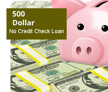 500 Dollar No Credit Check Loans Online