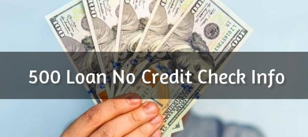 No Credit Check 500 Loan Header